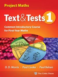 Text & Tests 1 Project Maths  book cover