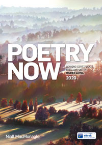 Poetry Now - Higher Level 2020 book cover