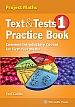 Text & Tests 1 Project Maths - Practice Book book cover