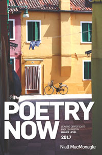 Poetry Now - Higher Level 2017 book cover
