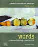 Words book cover