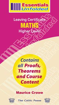 Mathematics – Leaving Certificate Higher Level book cover