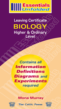 Biology – Leaving Certificate – Higher & Ordinary Level book cover