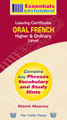 Oral French – Leaving Certificate – Higher & Ordinary Level book cover